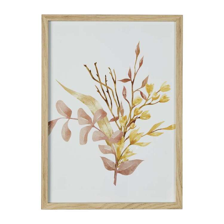 Cooper & Co Cocoon Comfort Water Colour Autumn Flowers Framed Print