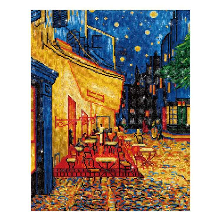 Diamond Dotz Cafe At Night (Van Gogh) Kit