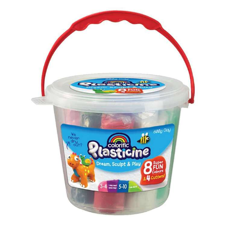 Colorific Plasticine Fun Tub
