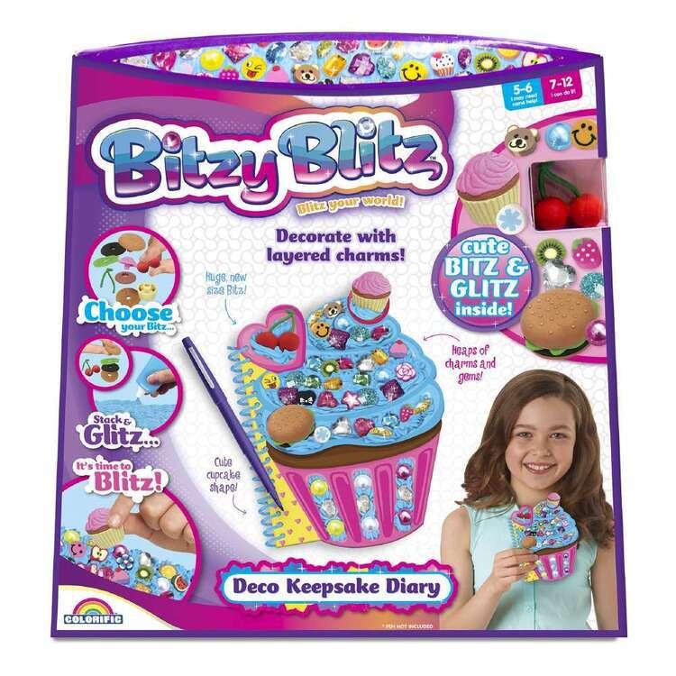 Colorific Bitzy Blitz Deco Keepsake Diary Kit