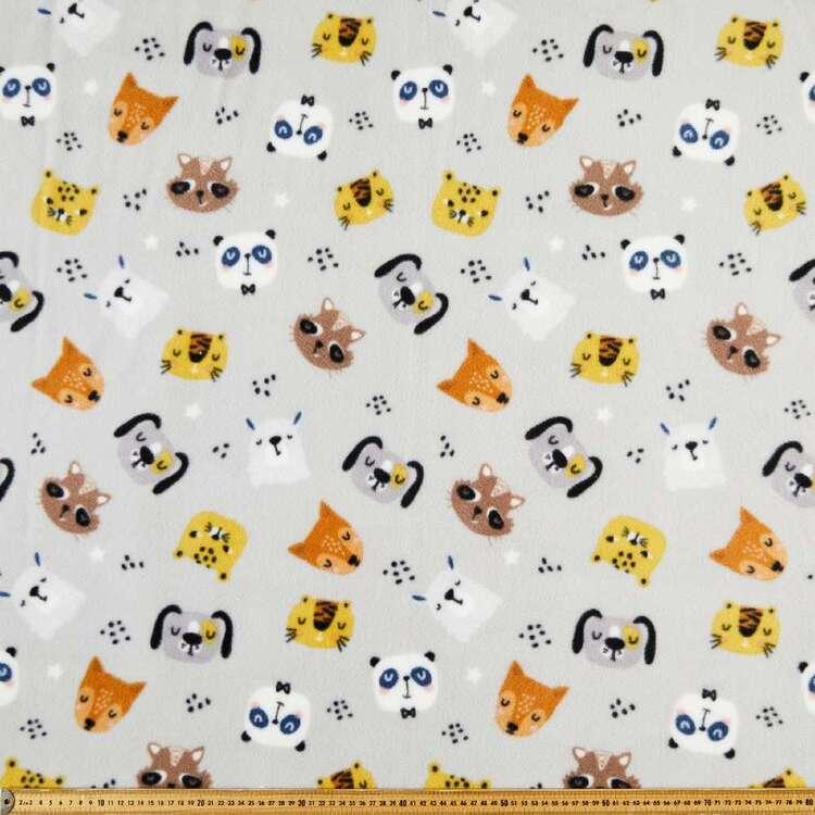 Cats & Dogs Printed 148 cm Husky Polar Fleece Fabric