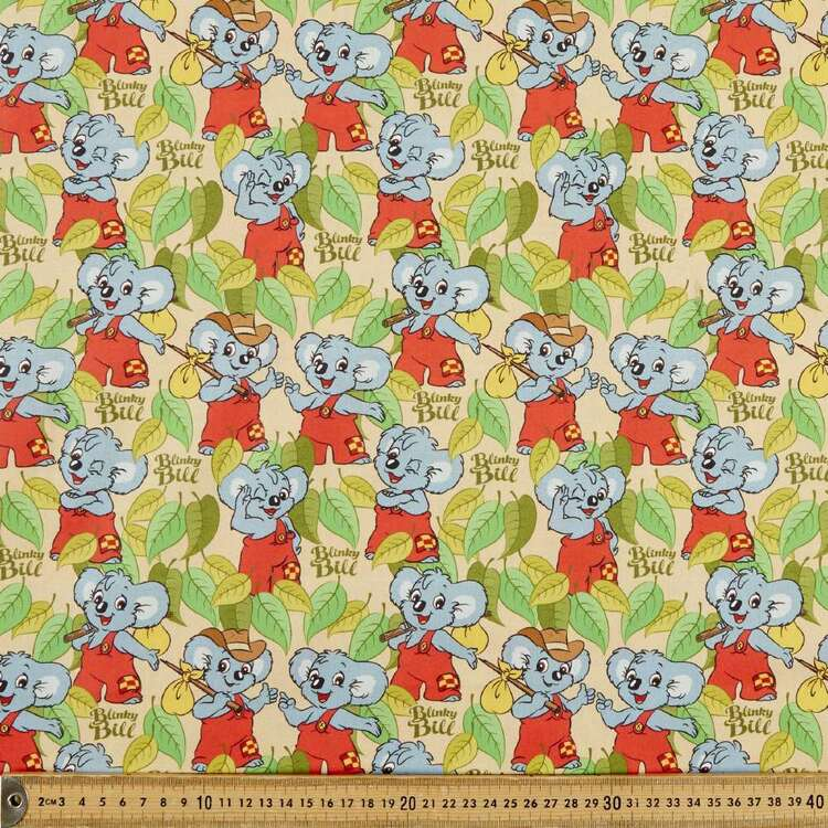 Blinky Bill Adventure Cotton Fabric