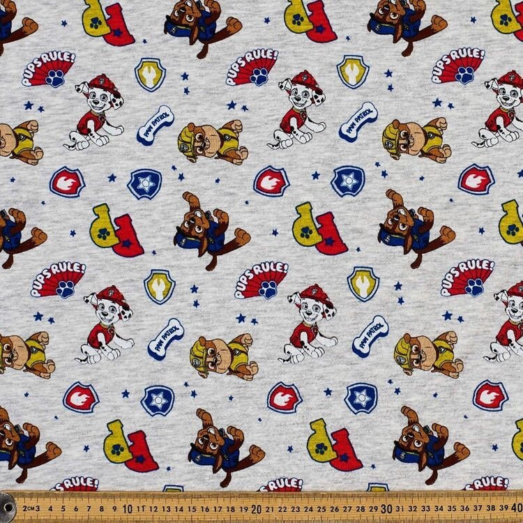 Paw Patrol Brushed Fleecy Fabric