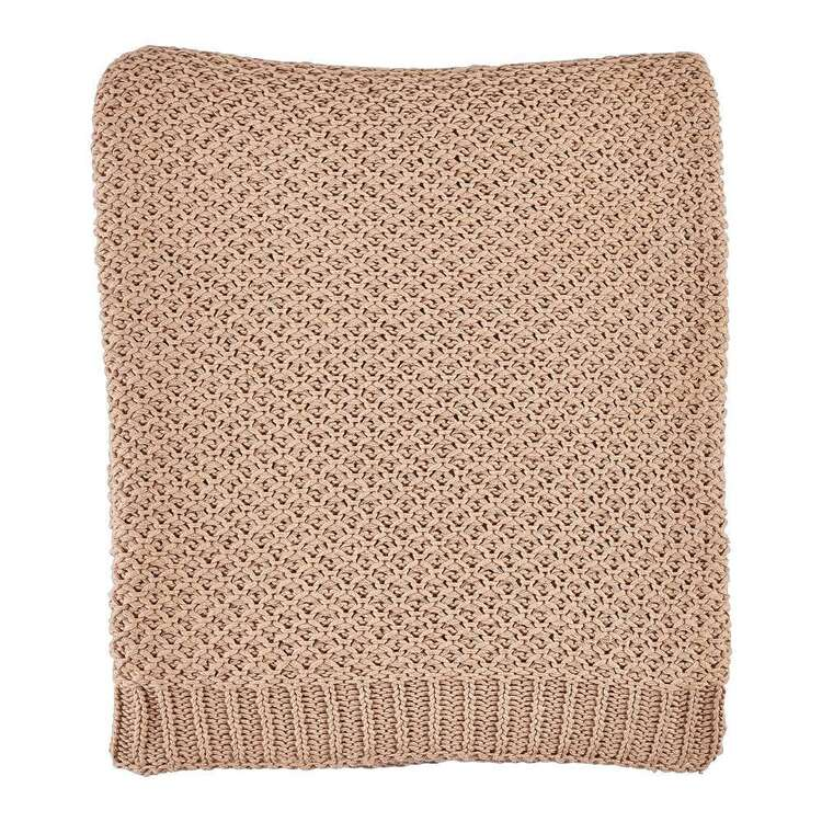 Koo Moss Knitted Throw