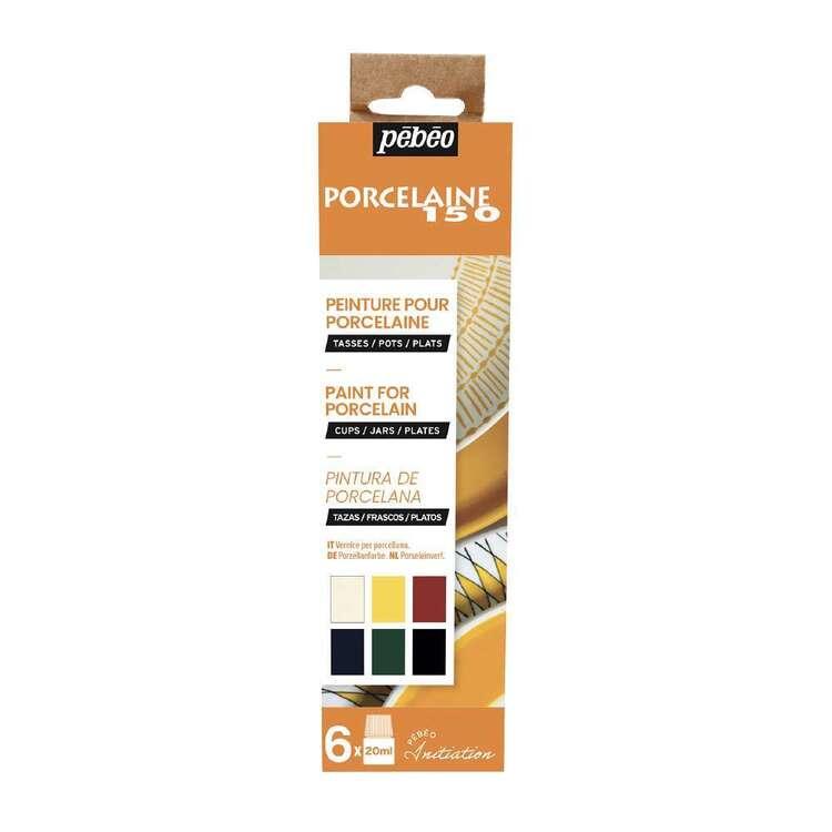 Pebeo Porcelaine 150 6 Pack 20 ml Gloss Paint Set