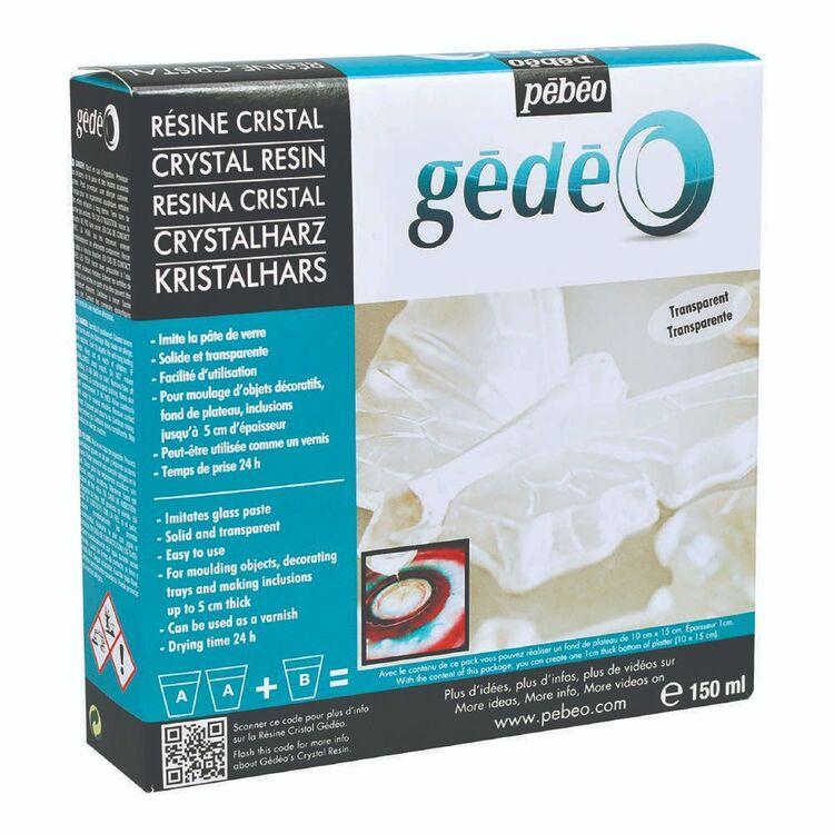 Pebeo Gedeo Crystal Resin Kit Clear 150 mL