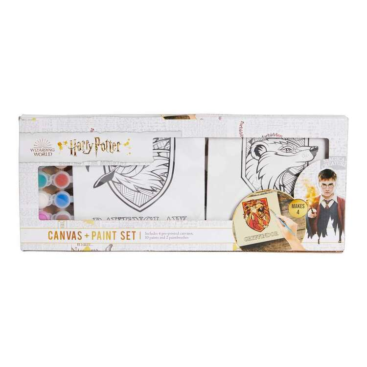 Harry Potter Houses Canvas & Paint Kit