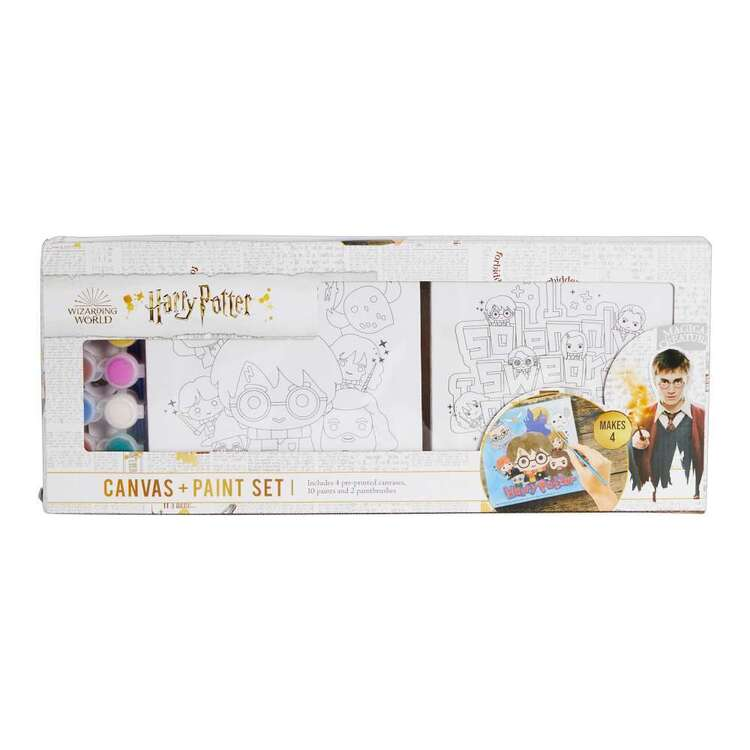 Harry Potter Cartoon Characters Paint & Canvas Kit