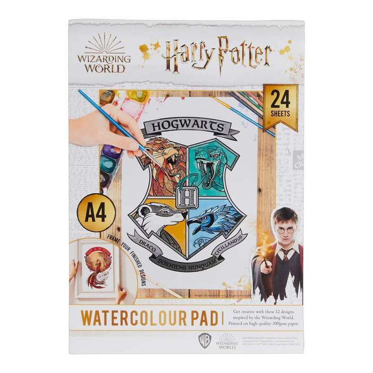 Harry Potter A4 Water Colour Pad