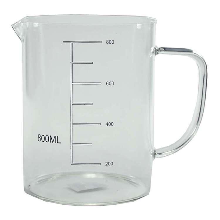 Kates Kitchen 800 mL Glass Beaker With Handle
