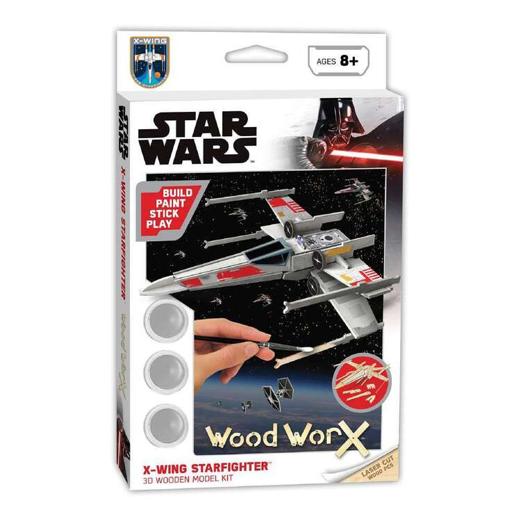 Wood WorX Star Wars X-Wing Starfighter Model Kit
