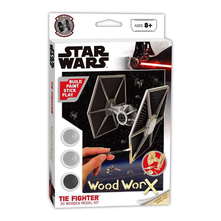 Wood WorX Star Wars Tie Fighter Model Kit