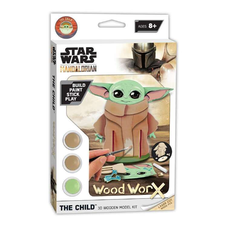 Wood WorX Star Wars The Child Model Kit