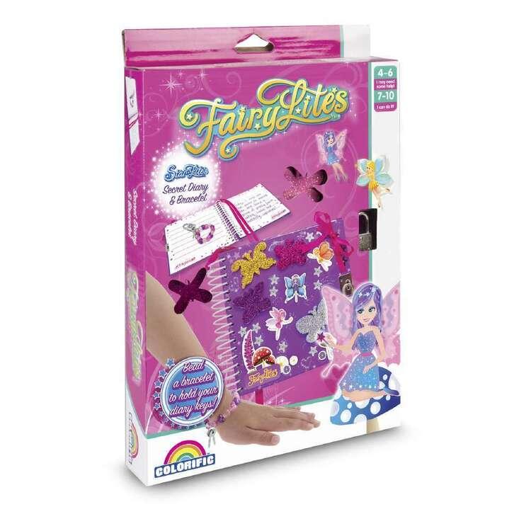 Fairylites Secret Diary & Bracelet Kit