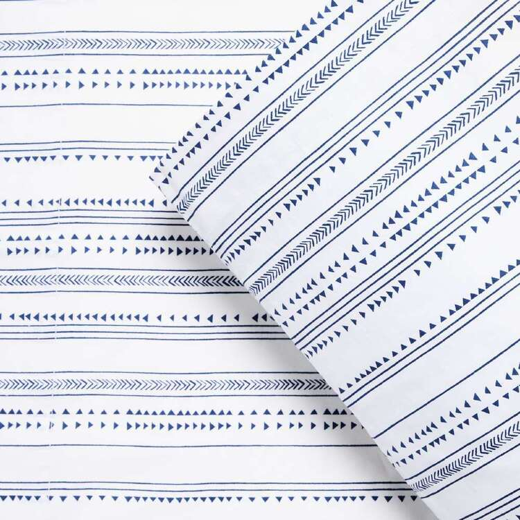 KOO Daneta Printed Wash Cotton Sheet Set