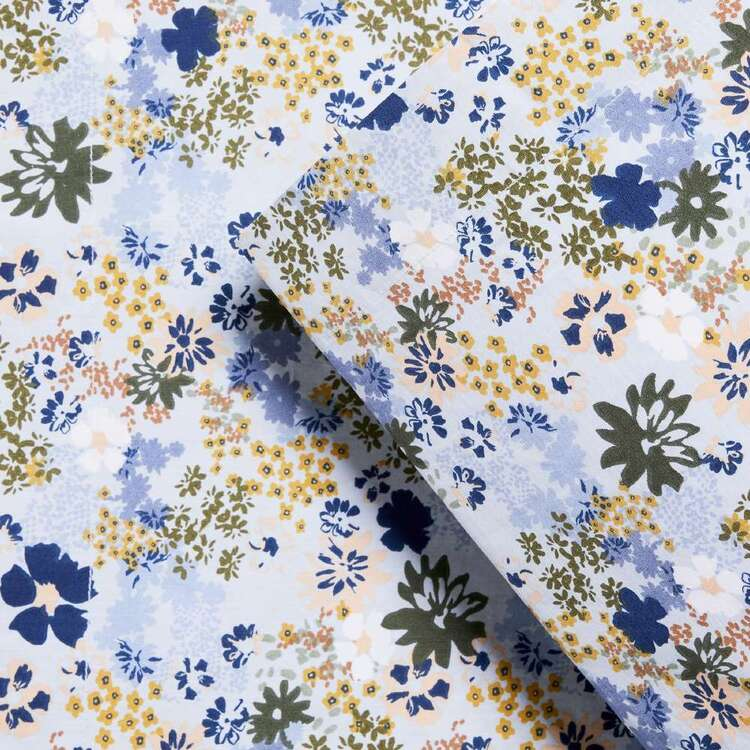 KOO Alyse Printed Wash Cotton Standard Pillowcase