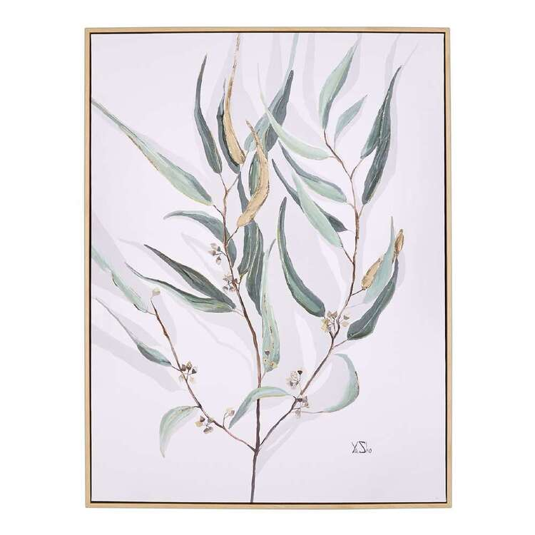 Cocoon Comfort Among Leaves Framed Canvas