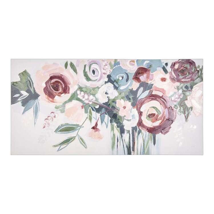Cocoon Comfort Bunch Of Flowers Canvas Print