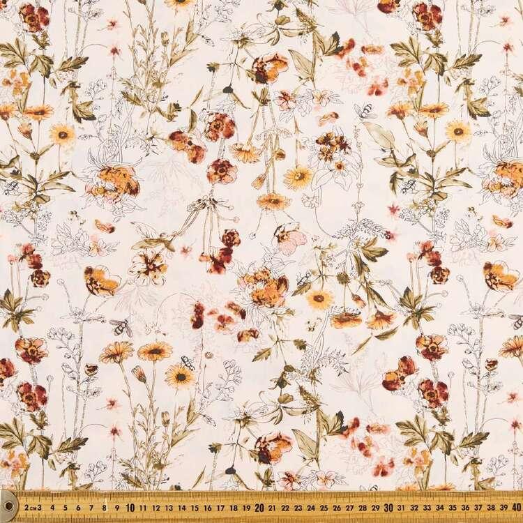 Fanciful Printed 112 cm Cotton Poplin Fabric