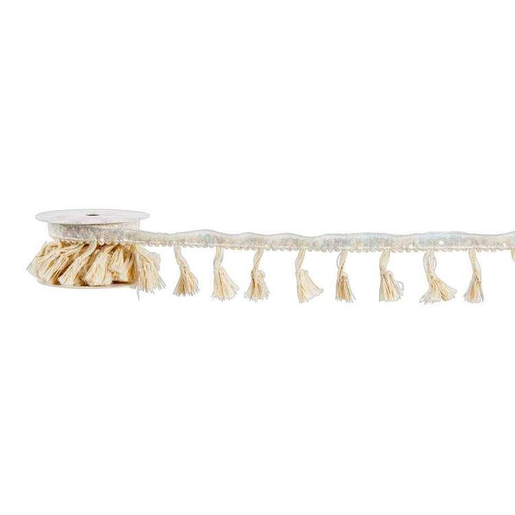 Cocoon Comfort Sequin Tassel Fringe