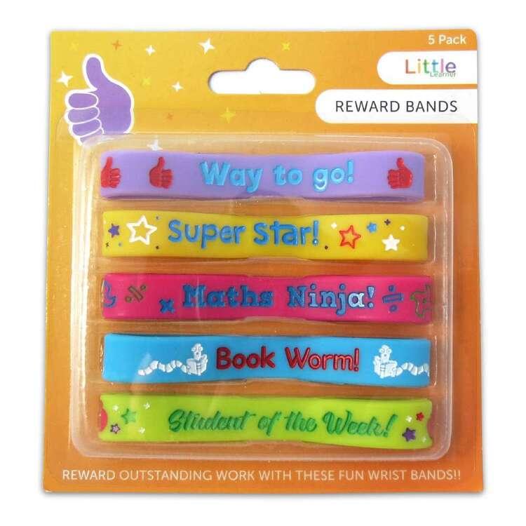 Little Learner 5 Pack Reward Bands