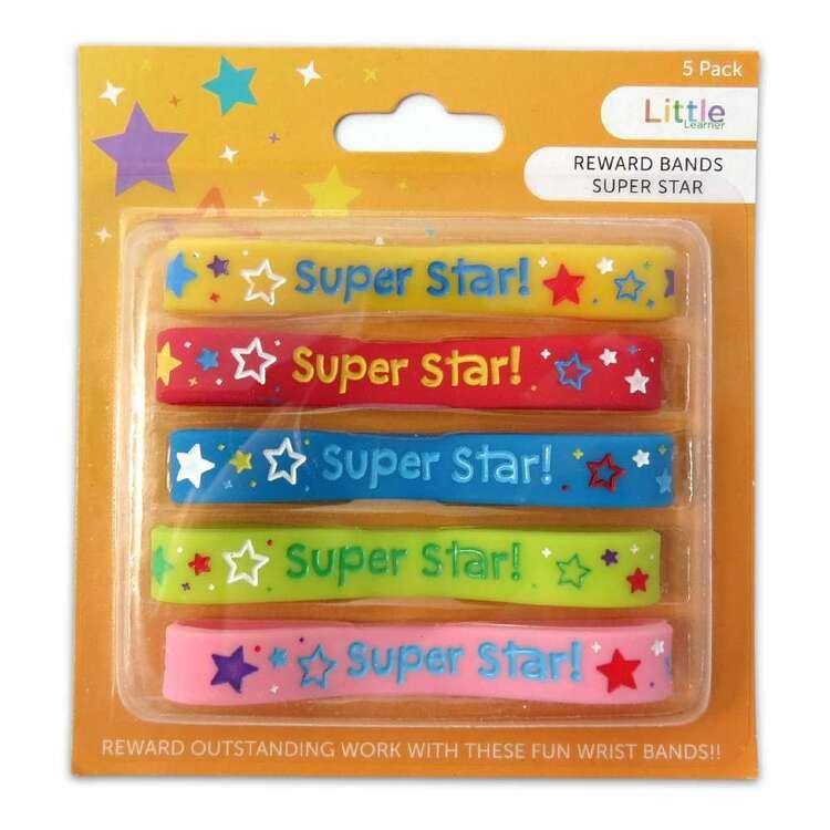 Little Learner 5 Pack Super Start Reward Bands