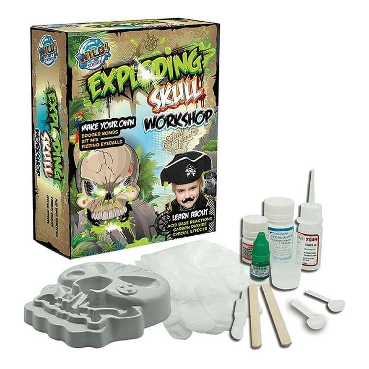 Wild Science Exploding Skull Workshop