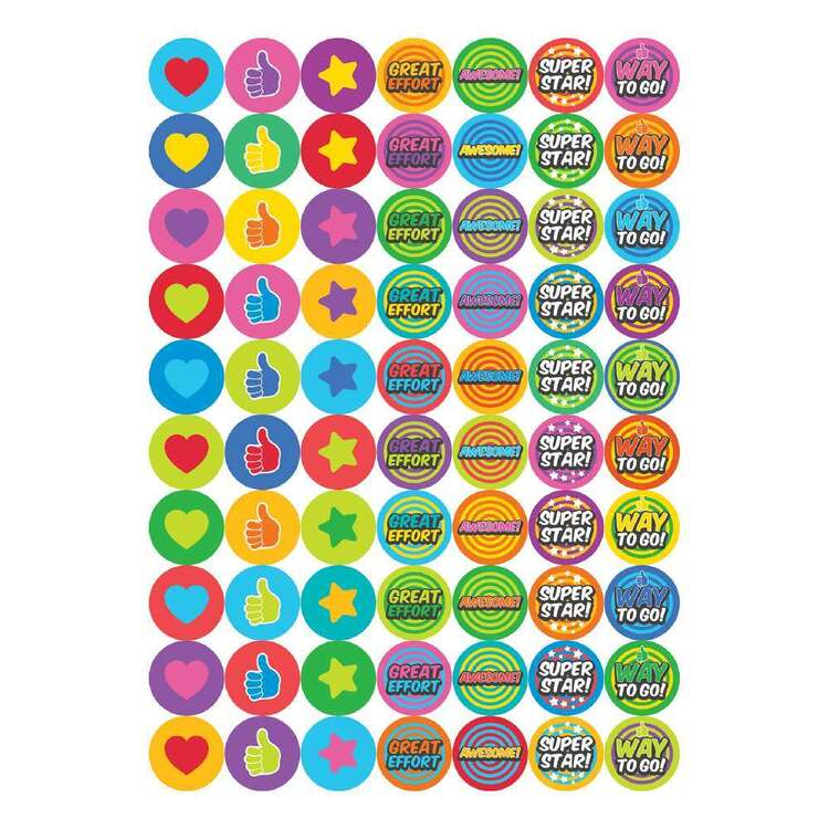 Little Learner 70 Piece Way To Go Stickers Set