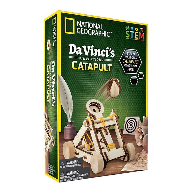 National Geographic Da Vinci's Catapult Inventions Kit
