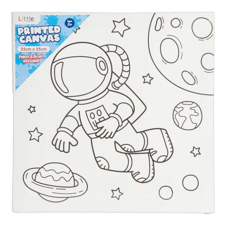 Little 1 Pack 25 x 25 cm Canvas Astronaut Set