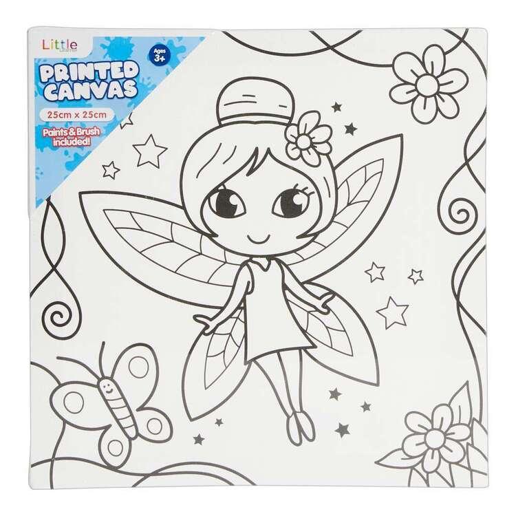 Little 1 Pack 25 x 25 cm Canvas Fairy Set