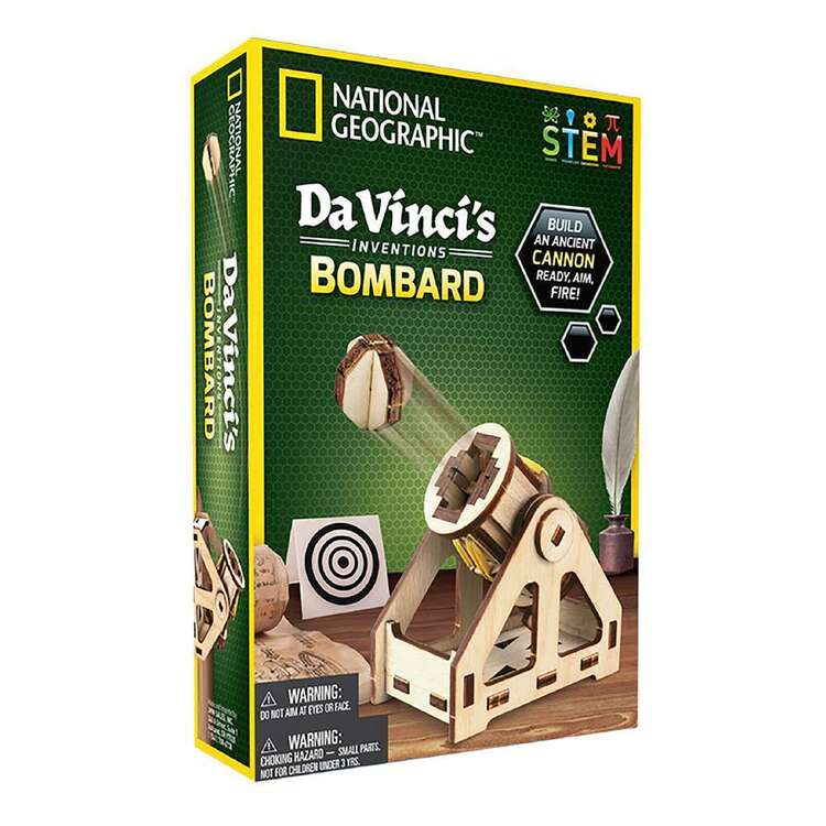 National Geographic Da Vinci's Bombard Inventions Kit