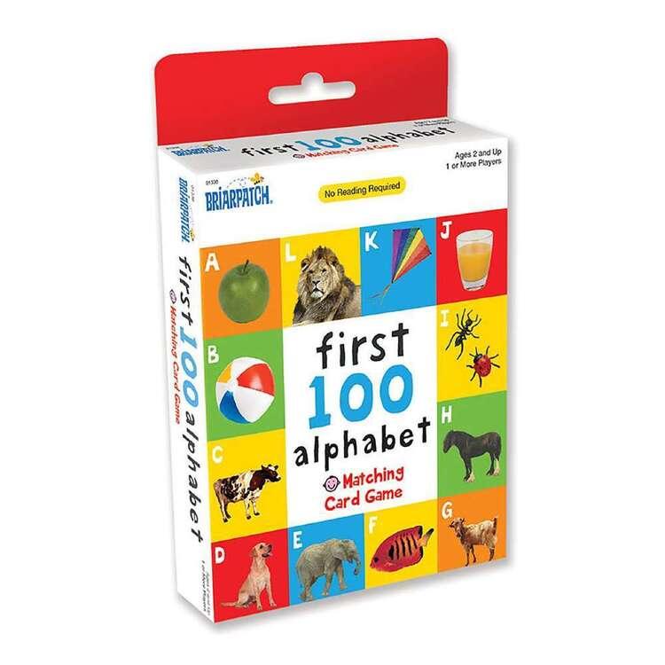 First 100 Alpha Matching Card Game