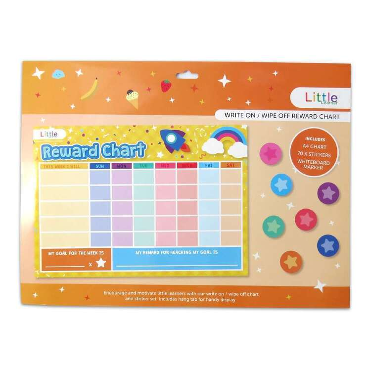 Little Learner Write On/ Wipe Off Reward Chart