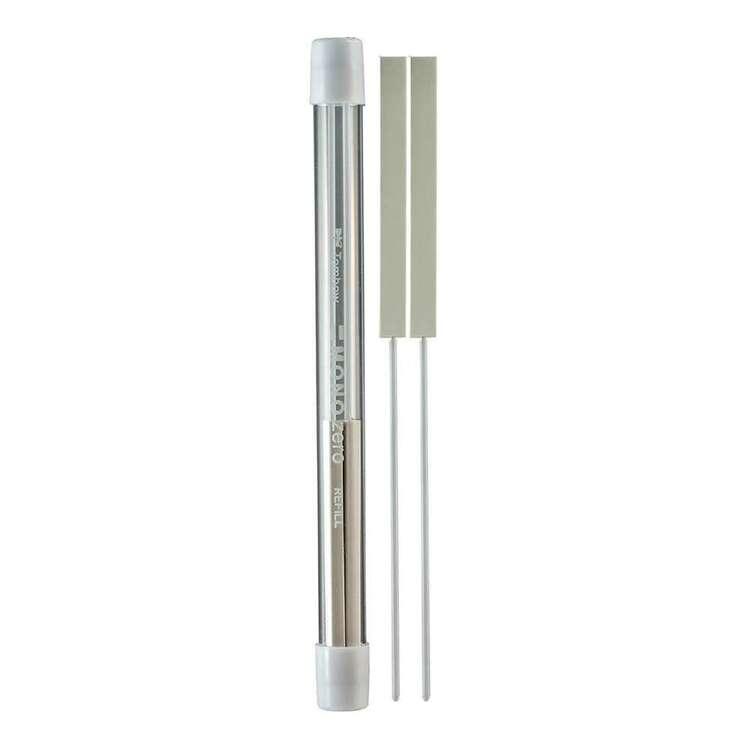 Tombow Mono 2.5 mm Rectangle Eraser Refill 2 Pack