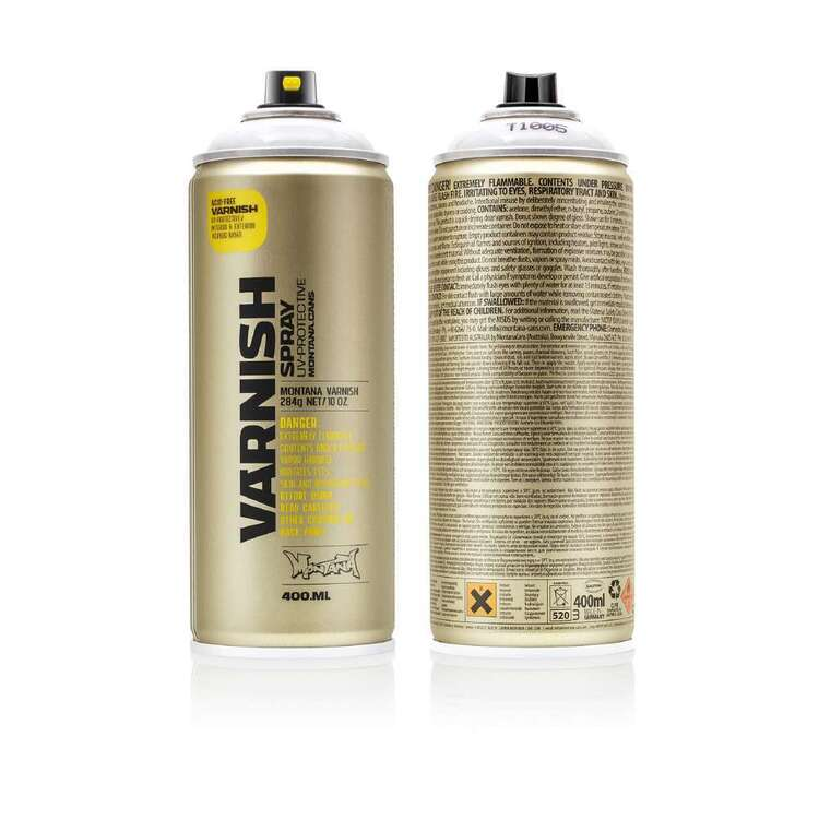 Montana Varnish Spray Paint