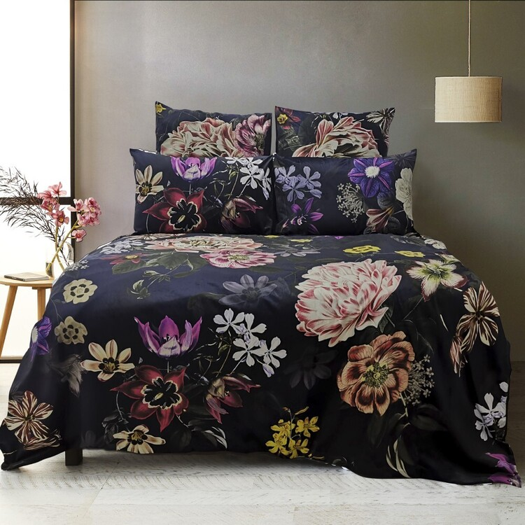 KOO Elite Clara Velvet Quilt Cover Set