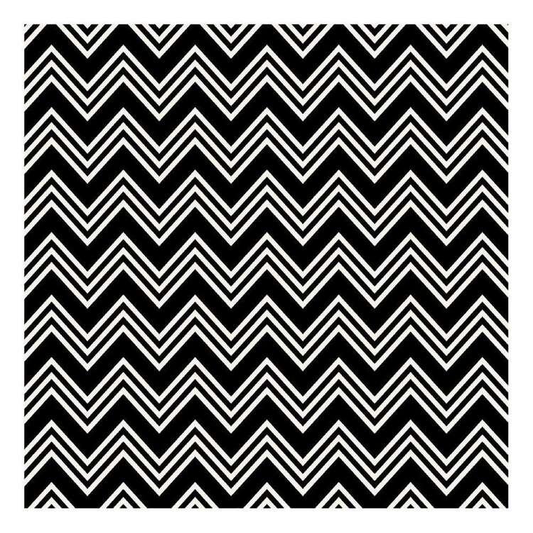 Ruby Rock-It Black Dancette Glittered Paper