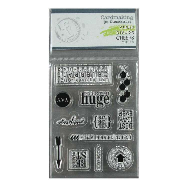 Fundamentals Cheers Clear Stamps Set