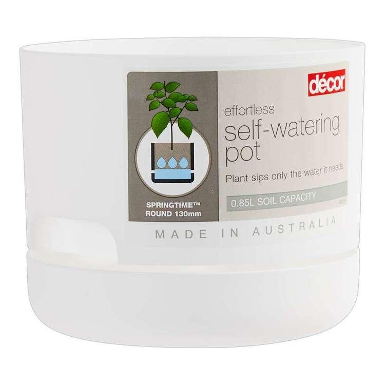 Décor Springtime 130 mm Self Watering Planter Pot