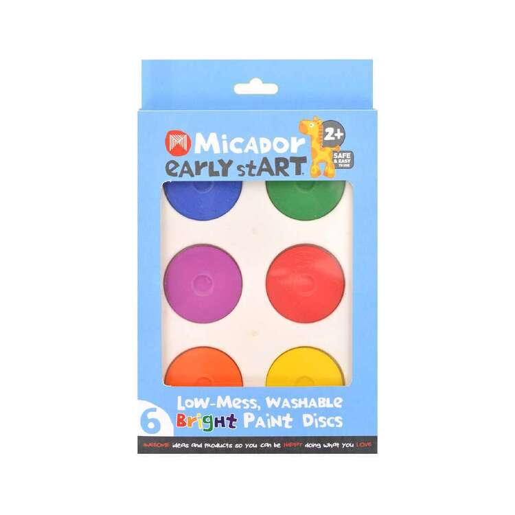 Micador Early stART Washable Paint Discs