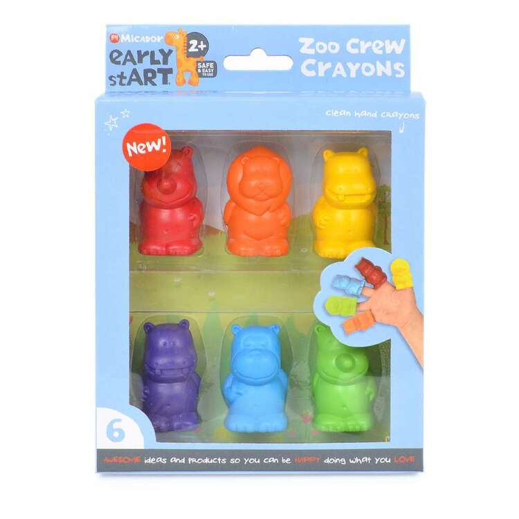 Micador Early stART Zoo Crew Crayons