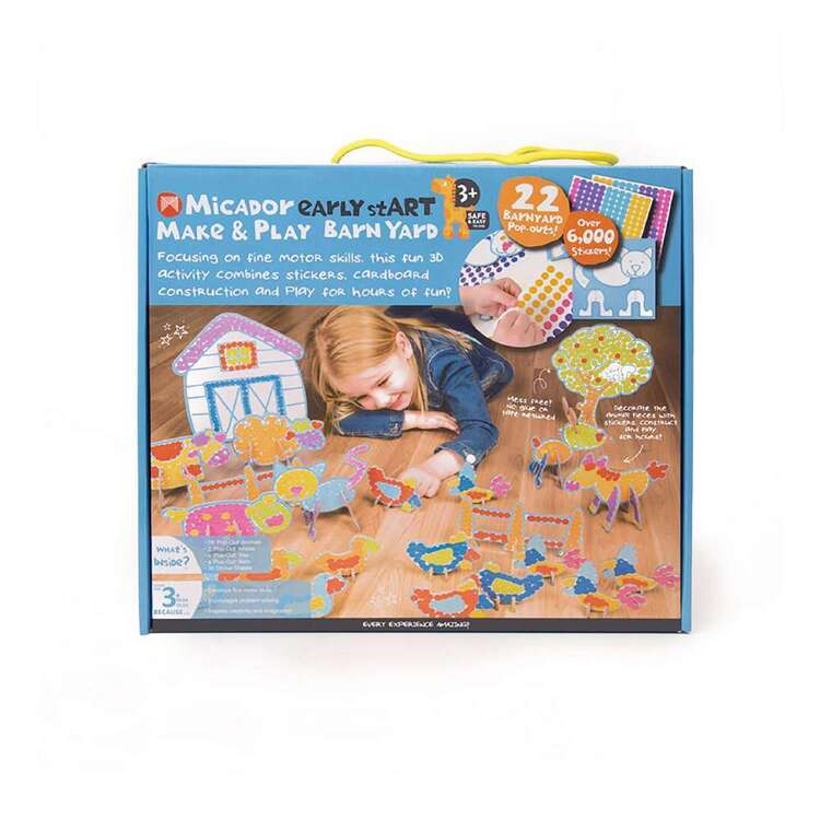 Micador Early stART Make & Play Barnyard