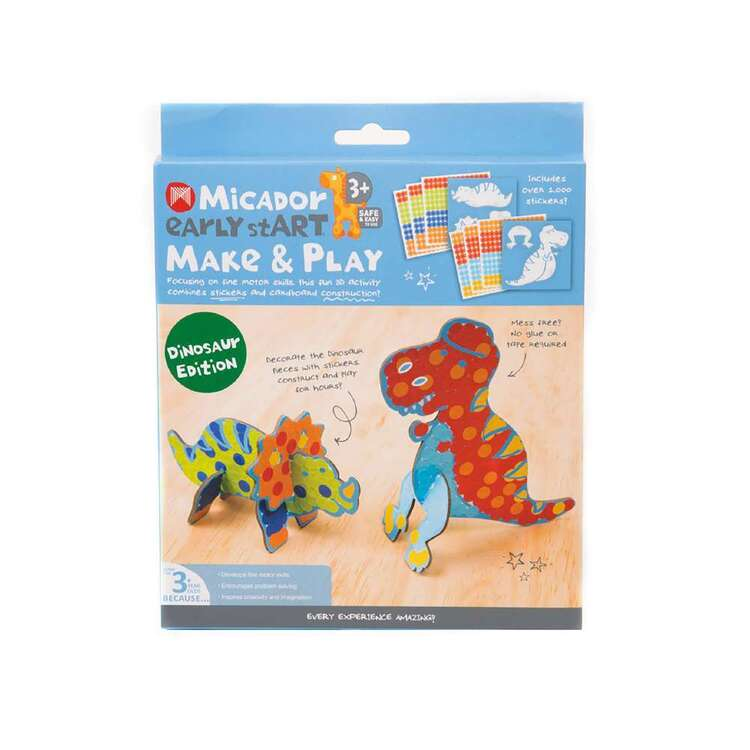 Micador Early stART Make & Play Dinosaur Edition