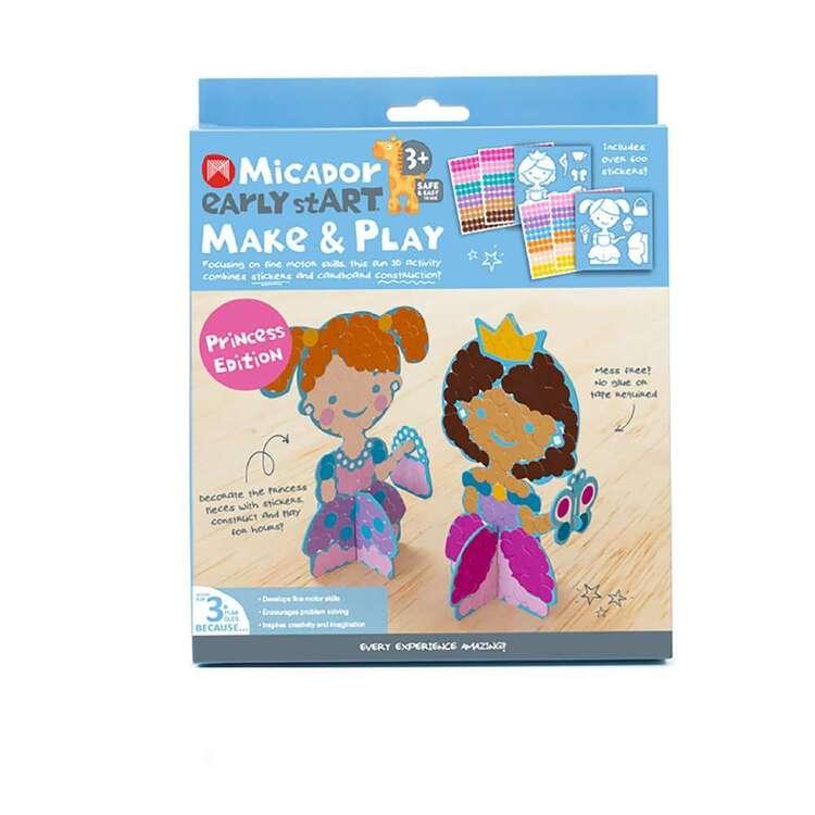 Micador Early stART Make & Play Princess Edition