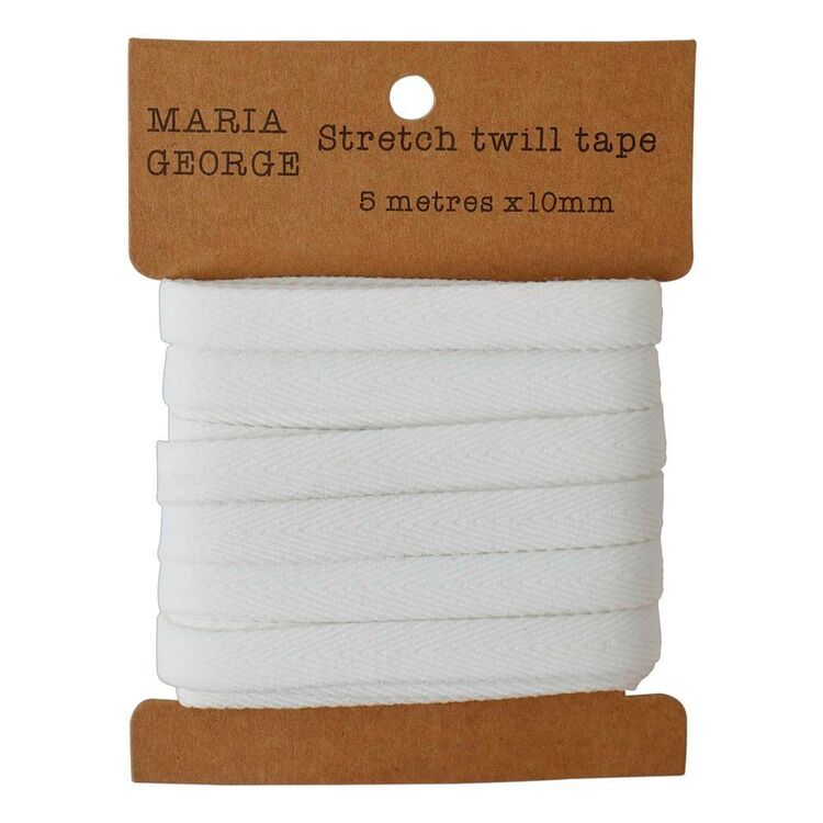Maria George Supersoft Stretch Twill Tape