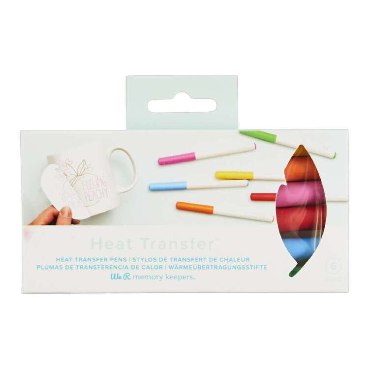 We R Memory Keepers 6 Pack Heat Transfer Quill Markers
