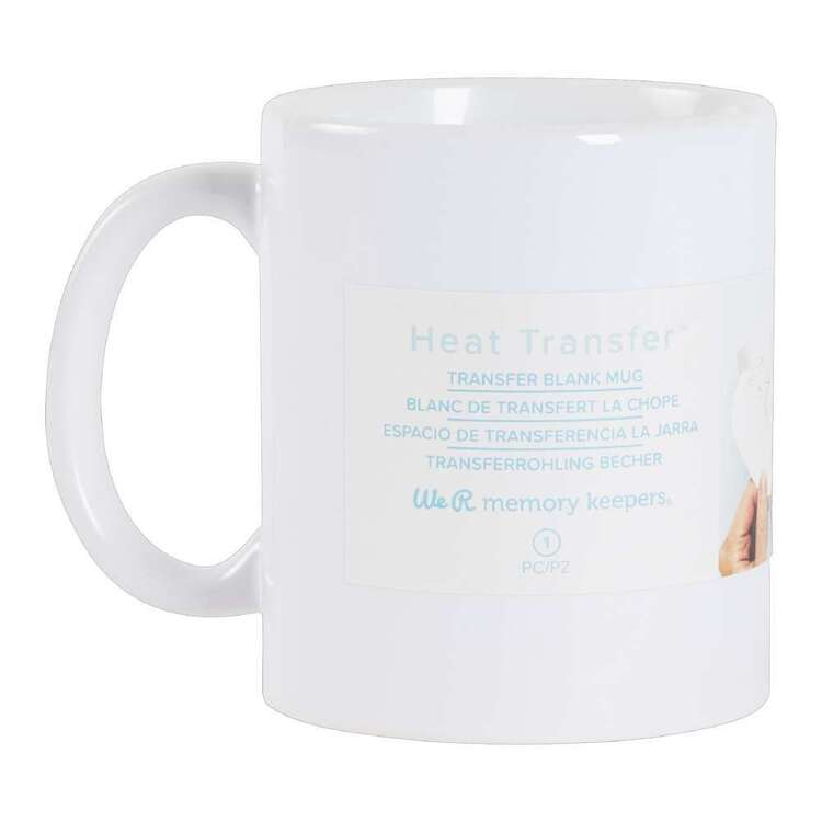 We R Memory Keepers Transfer Quill Blank Mug