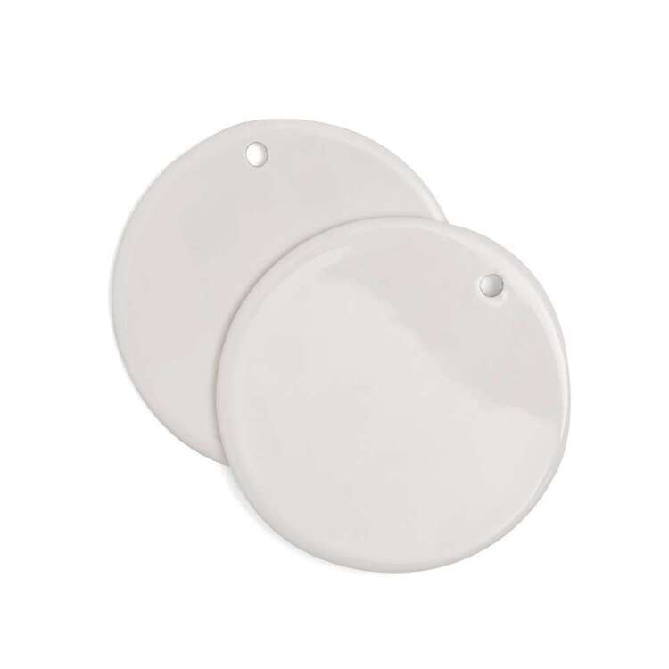 We R Memory Keepers 2 Pack Transfer Quill Blank Circle Ornament