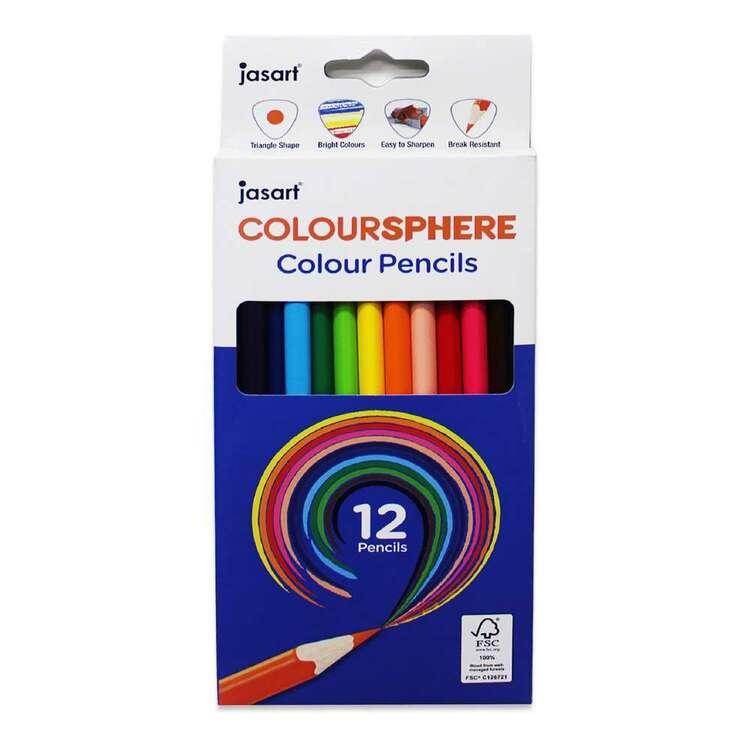 Jasart ColourSphere Triangle Pencil Set